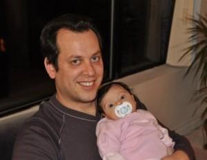 Sagiv Winer with child
