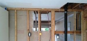 Water Damage Restoration Of Mold Infested Drywall